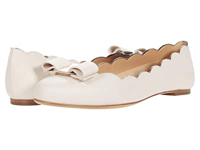 Salvatore Ferragamo Varina Shell (Bone) Women