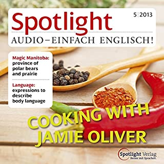 Spotlight Audio - Cooking with Jamie Oliver. 5/2013 cover art