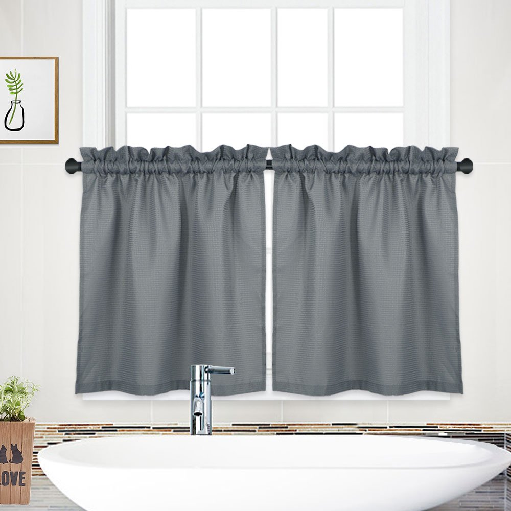 Curtains For Bathroom Window Amazon Com Rh