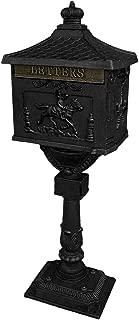 black iron letterbox