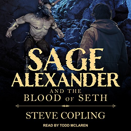 Sage Alexander and the Blood of Seth audiobook cover art