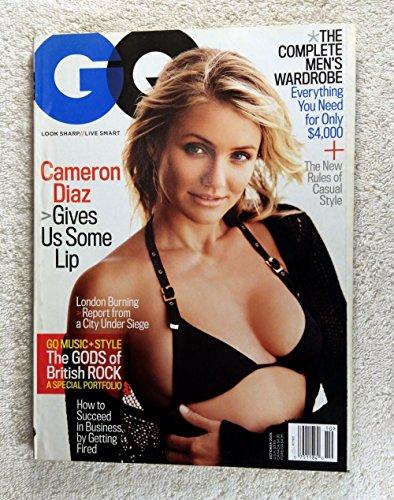 Cameron Diaz - GQ Magazine - October 2005