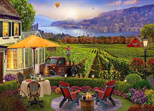 Wine Country Jigsaw Puzzle 1000 Piece