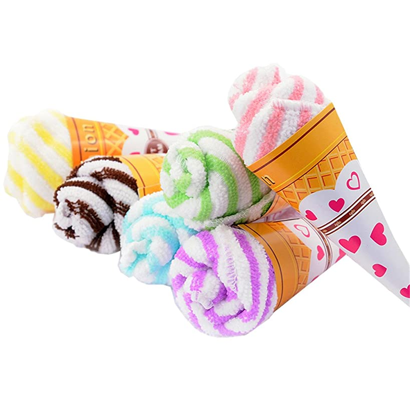 TanQiang 10 Pcs Ice Cream Towel Personalized for Wedding Party Gift Thank You Guest Favor Supplies