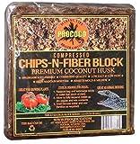 Prococo Chips-N-Fiber Premium Coconut Husk Coconut Husk organic coconut coir chips and fiber makes 75 quarts of coco coir growing media for planting …