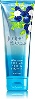 Bath & Body Works Juniper Breeze Ultra Shea 24 Hour Moisture Body Cream 8 oz, 226 g
