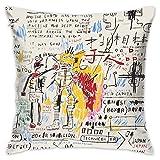 Jean Michel Basquiat Boxer Rebellion Home Decor Pillowcases