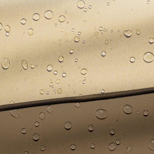 Classic Accessories 55-586-011501-00 Veranda Water-Resistant 94 Inch Square Hot Tub Cover,Pebble,Large