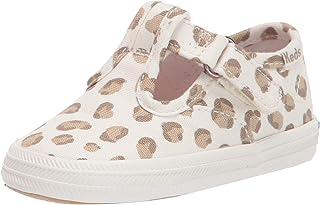 Keds Unisex-Child Champion Lace Toe Cap T-Strap Sneaker