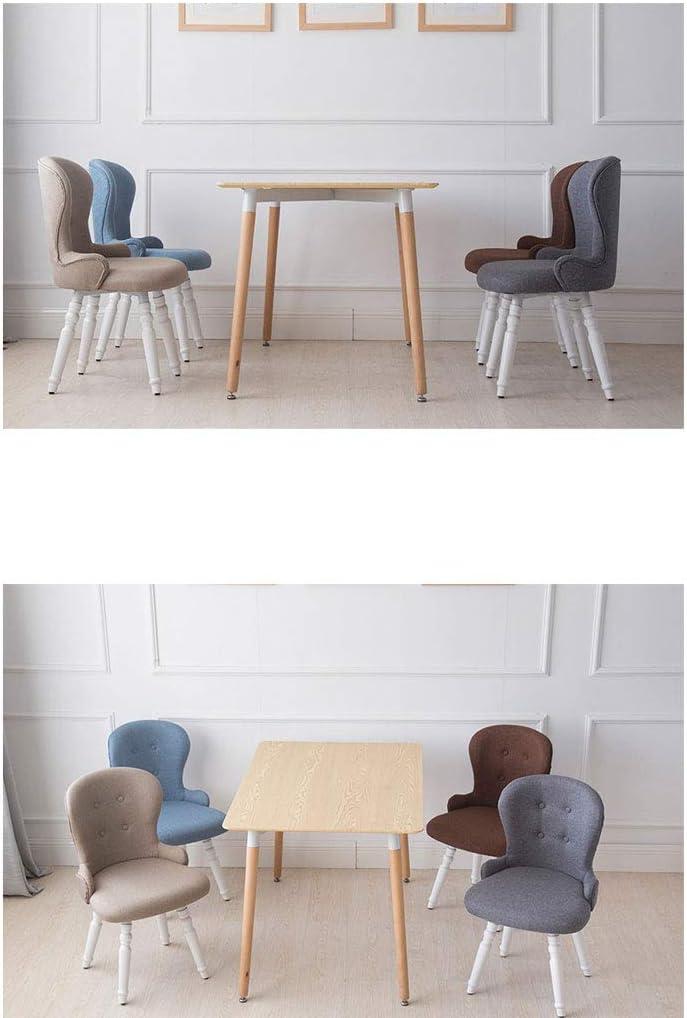 WDX- Chaise de salle à manger en bois massif Chaise de café Chaise de chaise Chaise de loisirs moderne et simple mode (Color : F) G