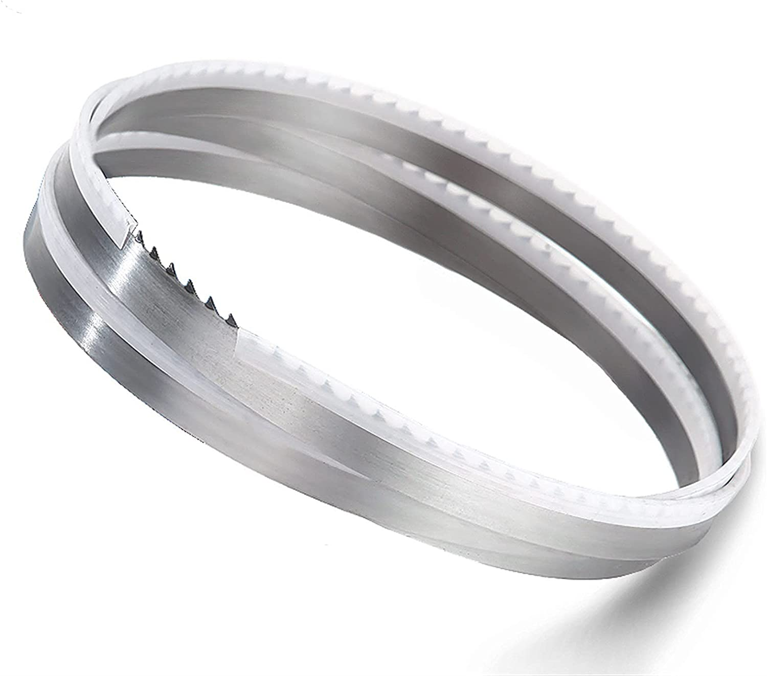 ADUCI 2 Pieces 1550 16 0.55mm 4Tpi Meat Band Saw Blade.160.55155