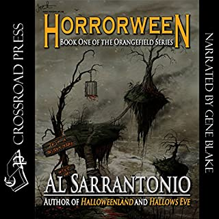 Horrorween audiobook cover art