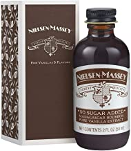 Nielsen-Massey, No Sugar Added Madagascar Bourbon Pure Vanilla Extract, with Gift Box, 2 ounces