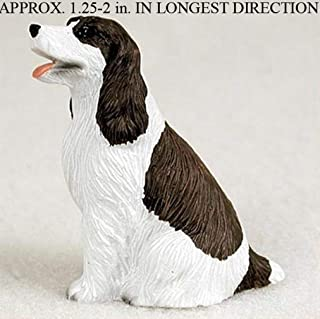 Ky & Co YesKela Springer Spaniel Mini Hand Painted Figurine Liver