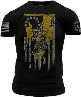Grunt Style Enlisted 9 Original Gadsden Men's T-Shirt