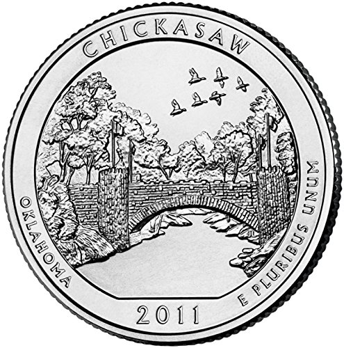 2011-D-Chickasaw-National-Park-D-40-Coin-Bankroll-Uncirculated