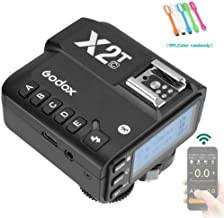 Godox X2T-C E-TTL 2.4G HSS 1/8000s Wireless Flash Trigger Transmitter Compatible for Canon Camera,5 Separate Group,TCM Function, Bluetooth Connection Supports iOS/Android App Remote Control