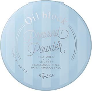 エテュセ オイルブロック プレストパウダーベビーブルー(透けるような白肌) 6g