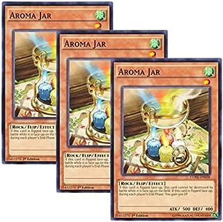 Yu-Gi-Oh! y3 Pieces setz English Version CORE-EN 038 Aroma Jar Aroma Pot (Normal) 1st Edition