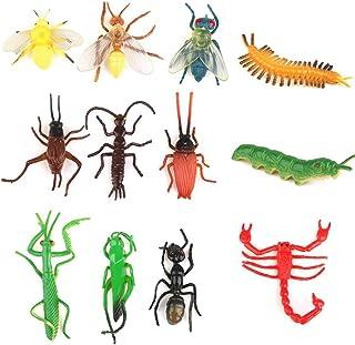 TOYMYTOY Juguetes de Insectos Plásticos Moelo de Insecto