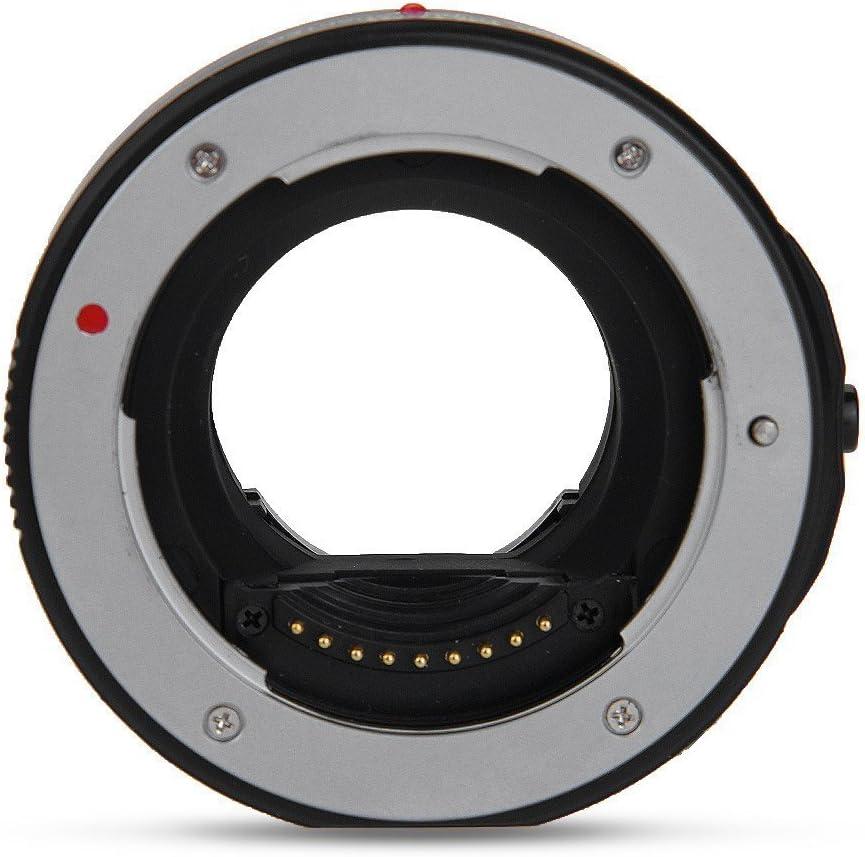 Market/&YCY JY-43F Focal Length AF Anillo de Anillo de Metal para Lentes 4//3 para Olympus Micro M4//3 Panasonic G3 Negro