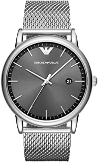 Armani Men's Quartz Watch analog Display and Stainless Steel Strap, AR11069
