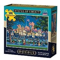 Dowdleフォークアート自由の女神ジグソーパズル(500ピース)