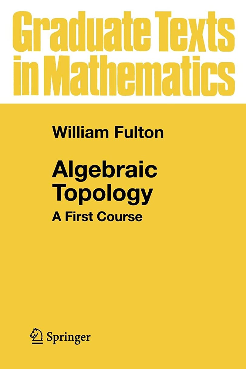 クレジット相互接続ペットAlgebraic Topology: A First Course (Graduate Texts in Mathematics)
