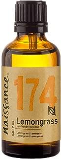 Naissance Aceite Esencial de Lemongrass Flexuosus 50ml - 100% puro, vegano y no OGM