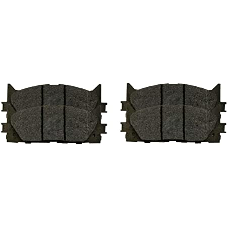 AutoShack SCD946-683 Front and Rear Ceramic Brake Pads 2 Pieces Fits Driver and Passenger Side