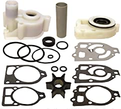GLM Water Pump Repair Kit for Mercruiser Alpha One with Base & Housing, Fits 1985-1990, Replaces 46-44292A5, 18-3320 Read Product Description for Exact Applications