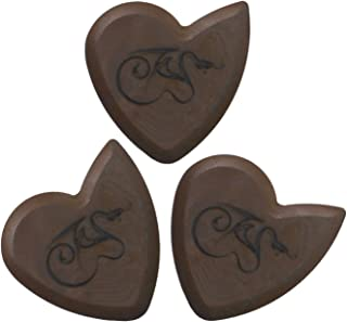 Pure Dragon's Heart Guitar Pick - 1200 hours of durability, 2.5mm thickness, Three Pack