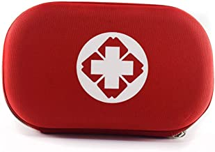 MXECO Mini Bolsa de Almacenamiento portátil Kit de Primeros Auxilios para Viajes al Aire Libre Bolsa de Medicina Pequeña Caja médica Caja de píldoras de Supervivencia de Emergencia