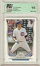 Kris Bryant 2014 Bowman Prospect TP-62 Chicago Cubs Rookie Card PGI 10 Chris - Baseball Slabbed Rookie Cards