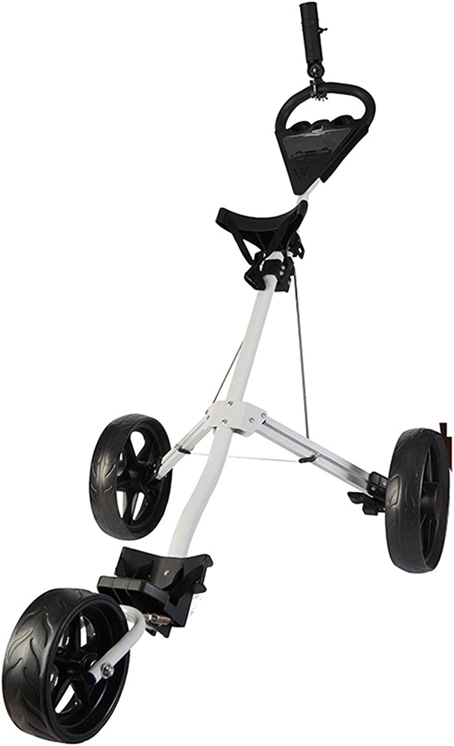 Animer and price revision Golf Push Cart 3 Wheels Folding Club Pull Lightweight A surprise price is realized