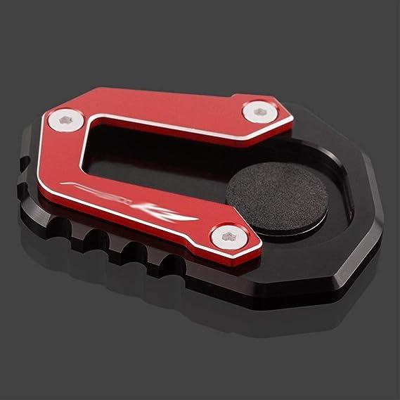 Motorrad Ständer Fuß Seitenständer Verlängerung Belagträgerplatte Fit For Bmw F900xr F900 Xr F 900 Xr 2020 Seitenständer Erweiterung Pad Color Red Küche Haushalt