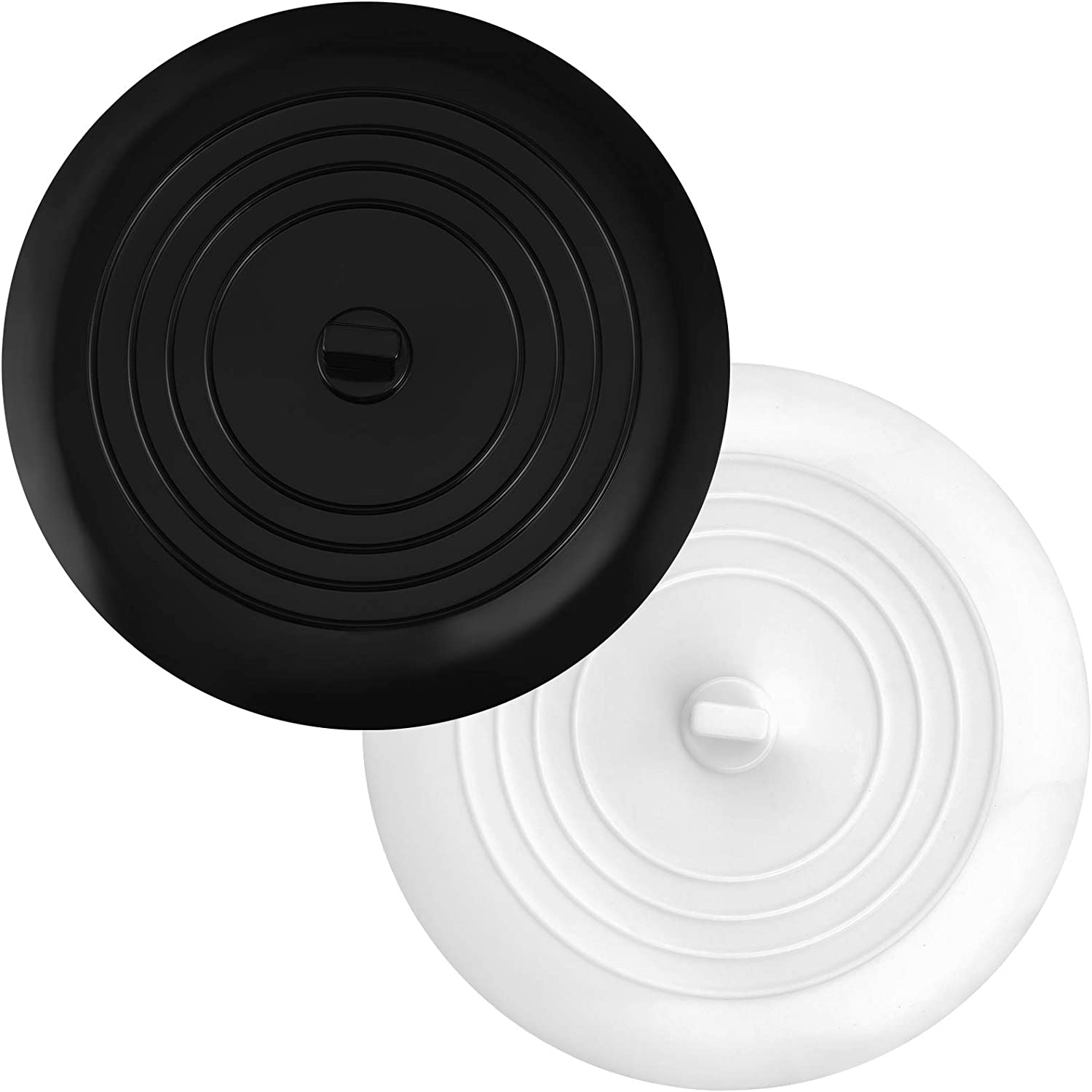 Altalsby Bathtub Stoppers 2 Max 81% OFF Pack Rep Free Shipping Cheap Bargain Gift Drain Tub Silicone Stopper