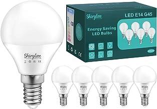 E14 LED-lampen, Kleine Edison-golfballampen met schroef, 5W LED-lampen G45-gloeilamp met schroef (gelijk aan 50W), 450LM 3...