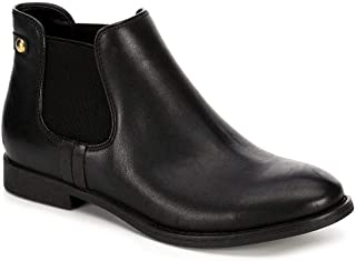 XAPPEAL Womens Faux Leather Chelsea Ankle Boot Shoes
