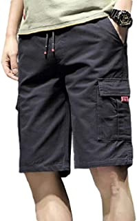 Coolred Men Multi Pockets Rugged Wear Summer Juniors Cargo Shorts Pants