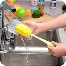 CYONGYOU 1 Piece Cup Brush Kitchen Cleaning Tool Sponge Brush Wine Bottle Coffee Tea Glass Cup Cleaning Brush