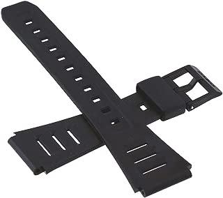 Casio Black Resin Watch Band-19mm