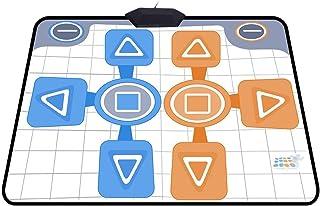 Sutinna Alfombrilla Antideslizante para Wii, Pad de Baile portátil Plug and Play Compatible para el Juego de Consola Wii