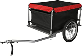 comprar comparacion WilTec Remolque de Carga para Bicicleta 65kg con Barra tracción Plegable Carrito Bici Ciclismo Cicloturismo