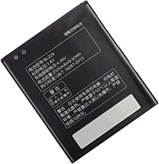 Civhomy Replacement BL229 Internal Battery Compatible with Lenovo A8 A806 A808T Cell Phone 2500mAh 3.8V