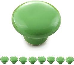 Ganzoo meubelknoppen set van porselein/keramiek meubelgreep deurknop kastgreep kastknop meubelknop - knop & greep in vinta...