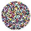 Naler Cuentas de Colores 2mm Mini Cuentas y Abalorios Cristal para DIY Pulseras Collares Bisutería (24 Colores) #4