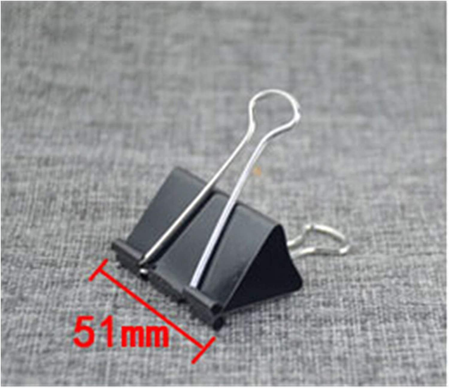 Letter Clip NEW 36 Ranking TOP8 Pieces Lot Black Metal 32 19 Clips 4 15 25 Binder