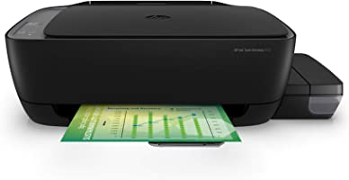 HP Ink Tank 410 WiFi Colour Printer, Scanner and Copier for Home/Office,High Capacity Tank (4000 Black and 8000...