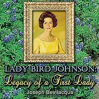 Lady Bird Johnson audiobook cover art